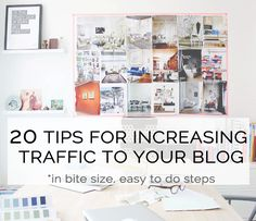 20 ways to increase traffic to your blog - Bloggers Bazaar