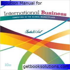 Solution manual for financial institutions management a risk solution manual for international business competing in the global marketplace 10th edition by hill fandeluxe Gallery