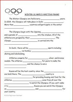 write an essay contrasting and comparing winter to summer Students create venn diagrams comparing and contrasting today's olympic games with games  write a brief essay that compares the games of  this summer.