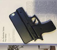 Super Coole Pistole Muster Silikon Handyhülle für iphone 5/5S/6/6Plus - elespiel.com
