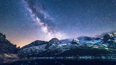 Meteora  Fedaia lake/ Dolomites It was a fortune to see the meteorite that night.  Camera: Canon EOS 6D  Don't forget to like the page or subscribe for more Milky Imagery! Image credit: http://ift.tt/2scsc8G  #MilkyWay #Galaxy #Stars #Nightscape #Astrophotography #Astronomy