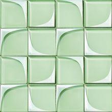 En exuberante Diseño <strong> Baño </ strong> mosaicos de vidrio