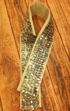 Sequin Camera Strap Cover with lens pocket. $35.00, via Etsy.