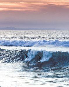 WEBSTA @ andeylang - #whitehorses #surfing #sunset #sky #clouds #atlantic #sea #waves #souljourney