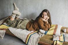 Linen Bedding, Linen Fabric, Flax Fiber, Morning Dew, Global Design, Beige Color, Blanket, Passion, Events