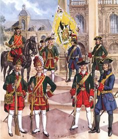 For The Tsar! Russian Infantry of the 18th c.