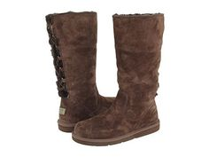 UGG Woman Roseberry Boots 5734 Chocolate ugg outlet store $172.06