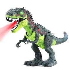 CifToys Tyrannosaurus Rex Dinosaur Walking Dinosaur Toys Kids Toy Realistic Jurassic Trex Dinosaur Action Toy Figure Walking Moving Glowing Dino Figure Perfect Gift >>> You can find out more details at the link of the image. Dinosaur Toys For Kids, Robot Dinosaur, Toys For Boys, Kids Toys, Dinosaur Stuffed Animal, T Rex Toys, Robot Animal, Talking Toys, Electronic Toys