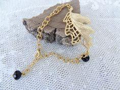 Leaf Bracelet, Gold Leaf Bracelet, Charm Bracelet, Elegance Bracelet, Handmade Jewelry, Turkish Jewelry, Summer Fashion, Mother's Day Gifts by sevinchjewelry on Etsy