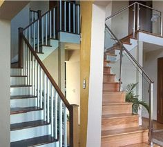 """The AGS Stainless Clearview® Glass Railing System affords you all the luxury and beauty of a custom measured and installed glass railing at a much lower cost. The """"floating"""" glass panels combined with the minimally sized frame........"""
