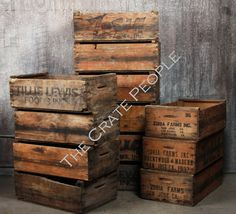 Hey, I found this really awesome Etsy listing at http://www.etsy.com/listing/129873983/vintage-wood-crates-farm-crates-hundreds