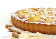 Tarta z rabarbarem i karmelizowanymi jabłkami / Rhubarb apple tart Whole Food Recipes, Cake Recipes, Dessert Recipes, Desserts, Rhubarb Tart, Buttery Cookies, Brownie Bar, I Love Food, Yummy Food