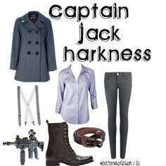 """Captain Jack Harkness"" by the-raggedydoctor on Polyvore"
