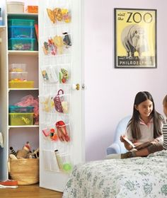 When it comes to setting up your child's bedroom, here's what experts say you should focus on at each life stage to nurture his or her growth. Tip: Try these tactics while you're still granted entry. Door Shoe Organizer, Closet Organization, Organizing, Kids Bedroom, Bedroom Decor, Kids Rooms, Old Room, Girl Closet, Home Staging