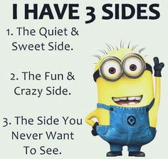 And only those who love me see all three