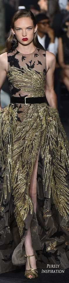 Elie Saab Fall 2016 Haute Couture | Purely Inspiration