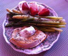 Wessels Küchenwelt: Grüner und weißer Spargel mit Mozzarella