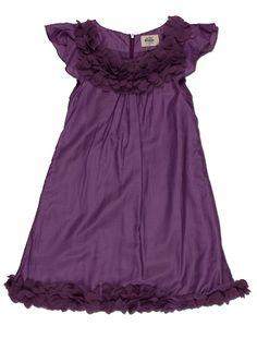 Purple party dress