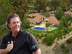 La casa di Phil Mickelson a Rancho Santa Fe