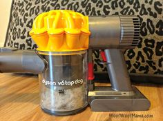 Dyson Cordless Vac for Pet Homes really picks up the fur!