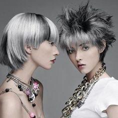 Des cheveux gris et glam