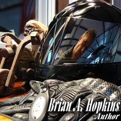 Homepage for Author Brian A. Hopkins, Horned Toad transmitter