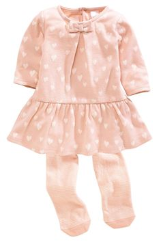 Buy Brushed Jersey Dress Set (0-18mths) from the Next UK online shop