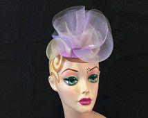 Lilac & Lavender Fascinator- Wedding, Evening, Races, Special Occasion Headpiece