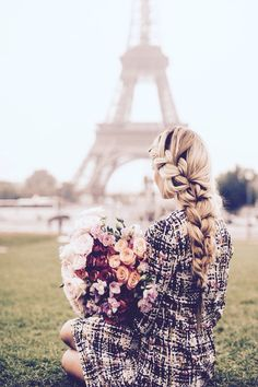 Paris. French/Dutch braid.