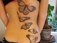 Black Monarch Butterfly Tattoos Design Monarch Butterfly Tattoo, Butterfly Tattoo Cover Up, Butterfly Tattoo Meaning, Butterfly Tattoo On Shoulder, Butterfly Tattoos For Women, Butterfly Tattoo Designs, Tattoo Designs For Girls, Butterfly Design, Simple Butterfly