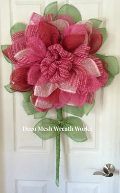Hey, I found this really awesome Etsy listing at https://www.etsy.com/listing/234548002/paper-mesh-flower-wreath-deco-mesh