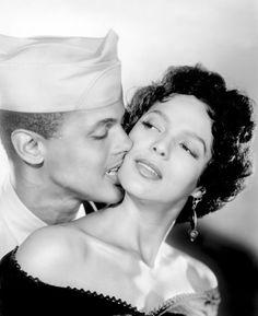 Harry Belafonte and Dorothy Dandridge for Carmen Jones   1954