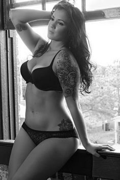 My inspiration :) thick tattooed girl, beautiful, natural, toned but curvy!!! | best stuff