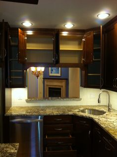 Nice town house kitchen  Triple J Contracting Triplejcontractors.com Ron Brown