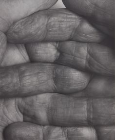 Available for sale from Galerie Nordenhake, John Coplans, Interlocking Fingers No. 1 Gelatin Silver Print, 35 × 28 in Expo Chicago, Gelatin Silver Print, Human Condition, Global Art, Real Beauty, Paintings For Sale, Art Market, Artsy, Black And White