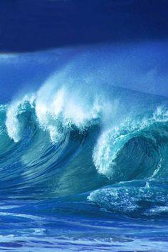 mistymorningme — earthdaily:   senerii: Ocean Power by *Nanah66