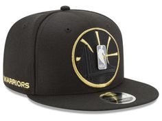 Golden State Warriors New Era NBA Playoff Push 9FIFTY Snapback Cap