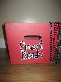 """Really cute idea!  AND I have tons of """"smart beads"""" in my prize box already!"""
