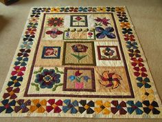Dreamworthy Quilts: Deana: Friday Night Sew In report  Great border treaemt!