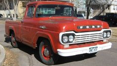 Tonka Truck: 1959 Ford F100 Shortbed