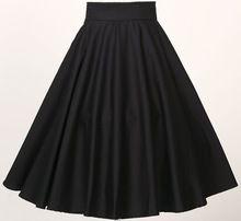 In stock 50s style skirt vintage UK design fashions S-6XL plus size women clothing flare umbrella skirts roupas femininas 2014(China (Mainland))