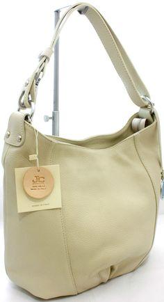 Borsa Monospalla regolabile  in pelle Bag Ladies JackyCeline ArtB101-5 Beige