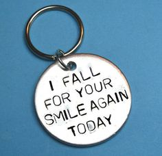 Boyfriend/Girlfriend Gift - I Fall For Your Smile Again Today