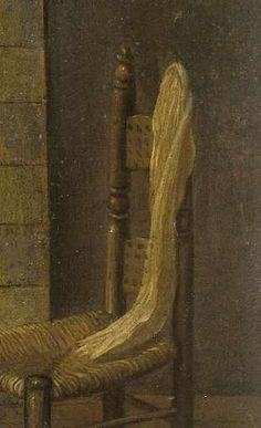 Vrouwtje bij de schouw, Jacob Vrel, 1654 - 1662 - Rijksmuseum