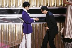Prince Presents Best Original Song at The 77th Academy Awards