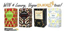 Win a selection of Vegan Pukka Teas. Organic and brimming full of health benefits including Chai Tea, Pukka Detox and Caffeine free Licorice & Cinnamon Tea. Pukka Tea, Cinnamon Tea, D 20, Teas, Giveaways, Health Benefits, The Selection, Competition, Amazing