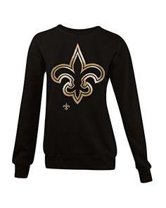 NFL New Orleans Saints Women s 6329L Athletic Fleece Crew… Miami Dolphins  Sweatshirt 48623fb8f