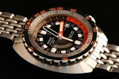 What diver do you have in the air at the moment? - Page 55 Cool Watches, Rolex Watches, Watches For Men, Casual Watches, Vintage Dive Watches, Time Capsule, Black Opal, Seiko, Diving