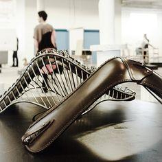 Overgaard and Dyrman - Wire Chair exhibited at 3DaysOfDesign, Copenhagen 2014. www.oandd.dk