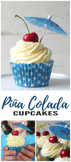 Bring a taste of the Caribbean to your dessert table with this cocktail-inspired cupcake recipe!